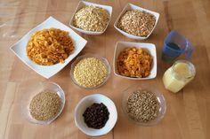 Gesundes Bio-Müsli selber machen: Heute zeigen wir euch, wie man leckeres, gesundes Knusper-Müsli selbst zubereitet | Rezept auf Länchenlust