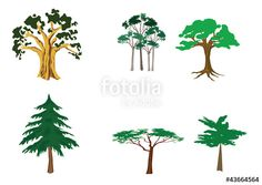 "Download the royalty-free vector ""Set of tree"" designed by Marta Tobolova at the lowest price on Fotolia.com. Browse our cheap image bank online to find the perfect stock vector for your marketing projects!"
