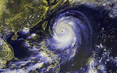 Super Typhoon Neoguri nears Japan  for more visit http://vizdoo.com