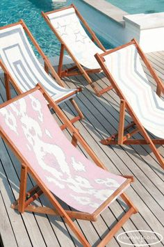 Custom Cool Deck Chairs