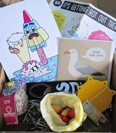 The Badger Box - Quirky / Illustrated Gifts