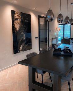 Decor Interior Design, Interior Decorating, Living Room Designs, Living Room Decor, Dinner Room, House Inside, Dream Apartment, Kitchen Styling, My Dream Home