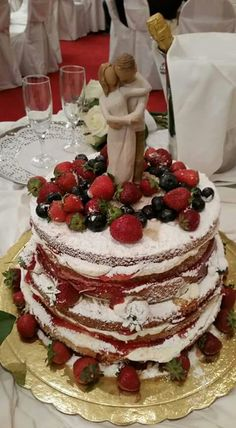 Wedding naked cake!!!
