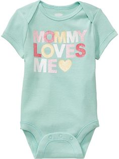 Family Love Bodysuits for Baby