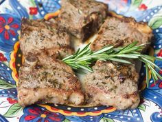 These lamb chops are marinated in the perfect mixture of flavors to deliver a taste that's sure to be as good as the smell! Serve for your Easter feast or whenever you're in the mood for a savory treat.