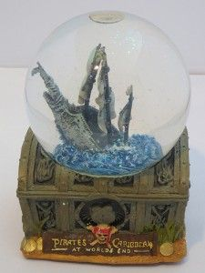A Very Merry Christmas Giveaway! Win a Disney Pirates of the Caribbean Snow Globe!