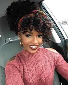 Modest and beautiful natural hair Black Girls Hairstyles, African Hairstyles, Afro Hairstyles, Curly Haircuts, Natural Hair Journey, Natural Hair Care, Natural Hair Styles, Hair Dos, Your Hair