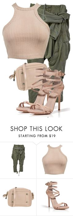 """""""Untitled #3452"""" by xirix ❤ liked on Polyvore featuring Faith Connexion, Versace and Le Silla"""