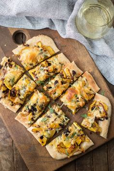 Delicata Squash Pizza with Basil