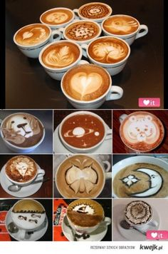 latte art - how pretty. How do they do this?