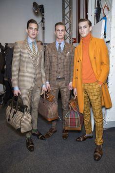 MILAN MEN'S FASHION WEEK autumn/winter 2014 ...   SOUP #soup #soupmagazine #soupdigital #backstage #mfw #fashion #ETRO