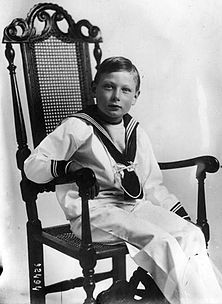 Prince John (1905 - 1919). Son of King George V and Queen Mary. He died young from epilepsy.