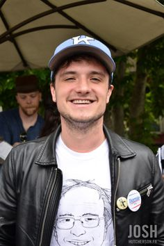 May, 10th    Josh Hutcherson at the East Los Angeles College to support Bernie…
