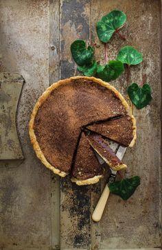 Chocolate Treacle Tart | Sugar et al