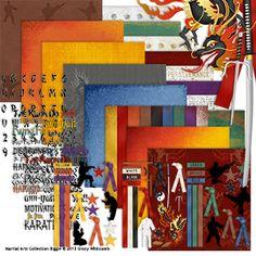 Martial Arts Collection Biggie - fabulous colors, and finally a Martial Arts Collection I can use!