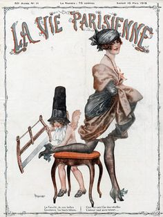 Art for French magazine