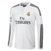 54d4ff2f7 14-15 Real Madrid Football Shirt Cheap Home Long Sleeve Jersey 14-15 Real  Madrid Football Shirt Cheap Home Long Sleeve jerseys