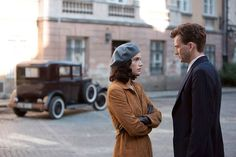PHOTO OF THE DAY - 30th June 2015:   David Tennant and Janet Montgomery in Spies Of Warsaw (2013)