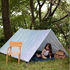 Make an Outdoor Play Tent for Kids | Summertime Fun | AllYou.com