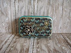 Altered Altoids® Tin Table or Desk Top Mini by MyGreenButterfly