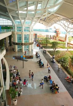 Gardens at Bali's new Ngurah Rai international airport terminal provide a pleasant atmosphere for travellers as they wait for flights or to be picked up for their holiday stay. (Photo by Raditya Margi) Denpasar, Bali Travel, Ubud, The Good Old Days, Southeast Asia, Traveling By Yourself, Cool Pictures, Bali Trip, Gardens