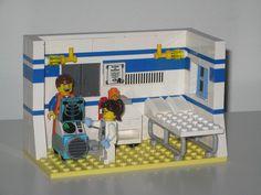X-Ray by adventuresinlego Lego Hospital, Lego Products, Minecraft Bedroom Decor, Lego Pictures, Lego Room, Buy Lego, Cool Lego Creations, Lego Design, Juki