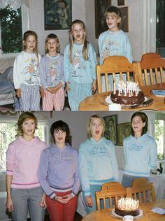 Recreating Childhood Photos. Ha ha ha! This is too funny!