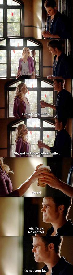 The Vampire Diaries TVD 7X04 - Stefan & Caroline
