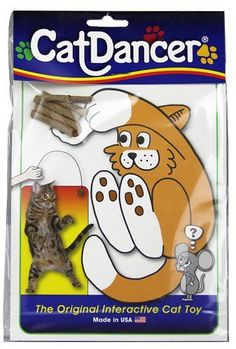 Cat Dancer Original Interactive Cat Toy -- 1 Toy(PACKOF2) *** Read more at the image link.