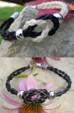 Whiskey River Designs - custom horsehair jewelry