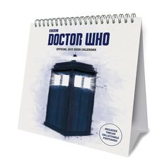 Doctor Who Official 2017 Desk Easel Calendar with 12 collectible art postcards 9781785492013: Amazon.com: Books