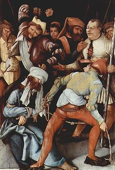 Grünewald, 'The Mocking of Christ', 1503-05.