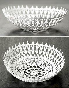Love this crochet bowl