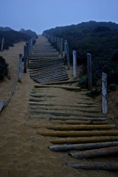 """Stairway"" - Baker Beach, San Francisco, California"