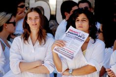 La revuelta de las batas blancas enPortugal