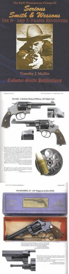 Books and Video 7304: Smith And Wesson N And X Frame Revolvers Collector Reference W Large Color Photos -> BUY IT NOW ONLY: $71.95 on eBay!