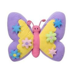 Butterfly Pillows | from target com crayola butterfly pillow set pastel target $ 20 sold ...