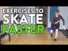 3 Exercises To Make Hockey Players Skate Faster - YouTube