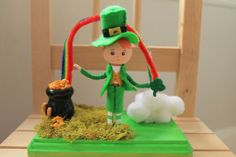 St+Patrick's+Day+Table+Top+Decor.+Cake+Topper.+by+MinandMoots,+$45.00
