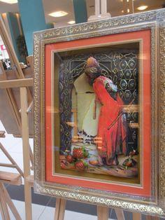 Ayşegül ÇAKMAK: perspektif çalışmaları Sans Art, Decoupage, Frame, Artwork, Poster, Handmade, Painting, Eminem, Canvas Art