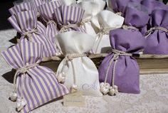 Lavender Crafts, Lavender Bags, Lavender Sachets, Sachet Bags, Easy Diy Christmas Gifts, Fabric Structure, Creative Gift Wrapping, Newborn Gifts, Little Gifts
