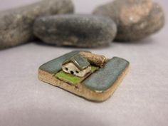 MyLand - New Plot - Collectible 3x3 cm or 1.2x1.2 in. puzzle in stoneware by elukka on Etsy https://www.etsy.com/listing/386454856/myland-new-plot-collectible-3x3-cm-or