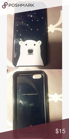 Kate Spade Polar Bear Case Kate Spade Polar Bear Case iPhone 6 kate spade Accessories Phone Cases