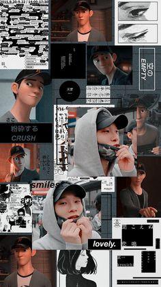 Chen from exo, wallpaper Grunge Style, K Pop, Chanyeol, Kyungsoo, Ulzzang, Tadashi Hamada, Hiro Hamada, Exo Lockscreen, Exo Luxion