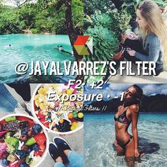 jay alvarez filter vsco tumblr feed idea theme ideas sun tropical island beach pretty happy clean bright summer sunny