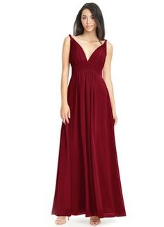 Shop Azazie Bridesmaid Dress - Azazie Justine in Chiffon. Find the perfect made-to-order bridesmaid dresses for your bridal party in your favorite color, style and fabric at Azazie. Royal Blue Bridesmaid Dresses, Black Bridesmaids, Azazie Bridesmaid Dresses, Wedding Dresses, Bridesmaid Outfit, Bridesmaid Ideas, Wedding Attire, Wedding Bridesmaids, Veronica
