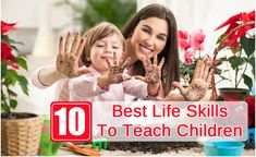 10 Best Life Skills For Children - Let's get them started early!