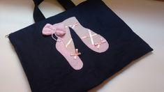 Case para notebook ou netebook de tecido brim, com zíper forrada com manta e quilt tema bailarina