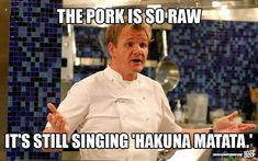 These 29 Memes Of Gordon Ramsay Insulting People Are Too Damn Funny – FunPins Funny Shit, Crazy Funny Memes, Really Funny Memes, Stupid Funny Memes, Funny Relatable Memes, Haha Funny, Funny Texts, Insulting Memes, Too Funny