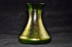 Loetz Kralik Oil Spot Vase | Pottery & Glass, Glass, Art Glass | eBay!